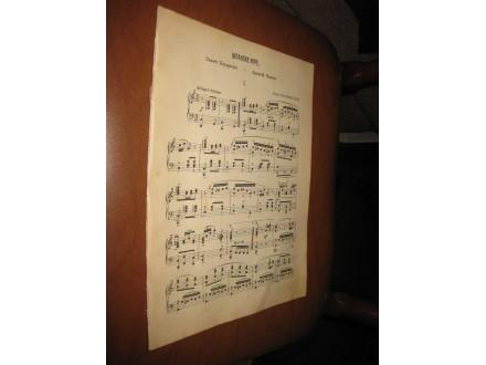 Španske igre - Moritz Moszkowski (Stare note1930-tih)