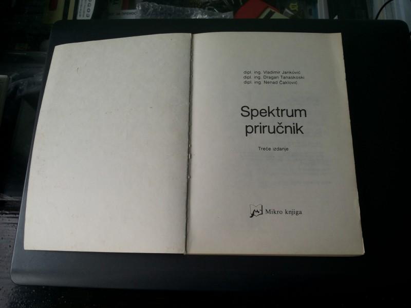 Spektrum prirucnik