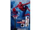 Spiderman koš na postolju + lopta