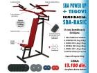 Sprava za vežbanje (SBA) + tegovi 44kg