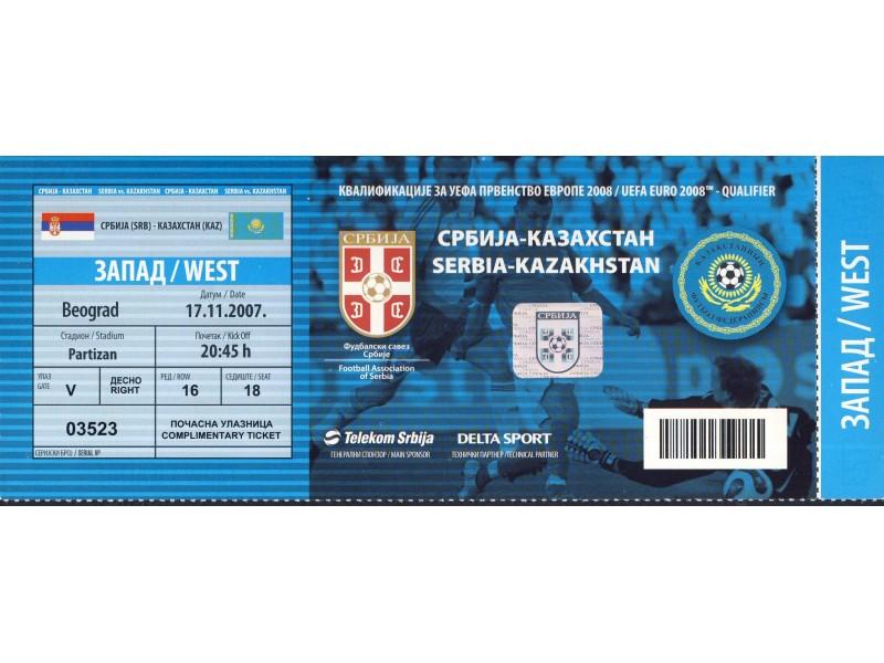 Srbija - Kazakstan , 2007.god.