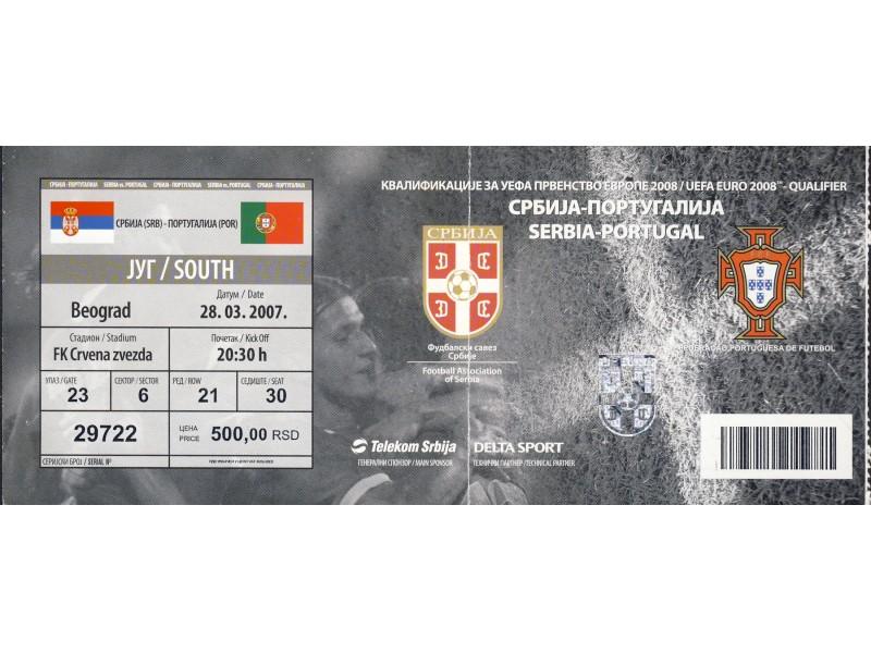 Srbija - Portugalija , 2007.god.