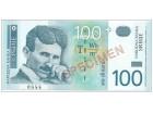 Srbija SPECIMEN 100 dinara 2003. UNC