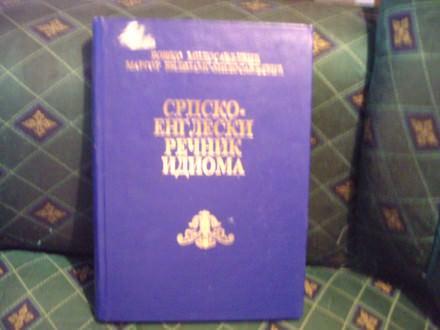 Srpsko-engleski rečnik idioma, Boško Milosavljević