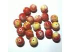 Staklene perle narandzaste 10mm 1KOM