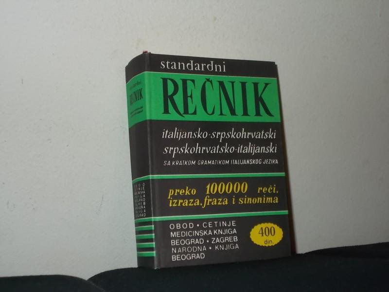 Standarni italijansko -srpskohrvatski rečnik