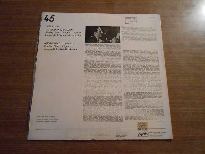Stanley Black, London Festival Orchestra, The, George Gershwin - Rhapsody In Blue / American In Paris