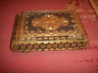 Stara drvena kutija za nakit
