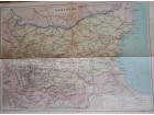 Stara karta - Bugarska 1962