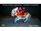 Stara limena igračka - Majmun na konju 1960` - RARITET