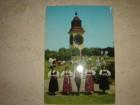 Stara razglednica Petrovaradin narodne igre