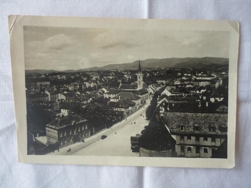 Stara razglednica `Zagreb`