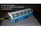 Stare EX YU igračke - Plavi autobus sa mehanizmom