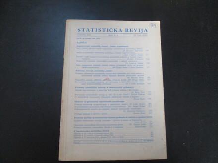Statisticka revija za 1969g