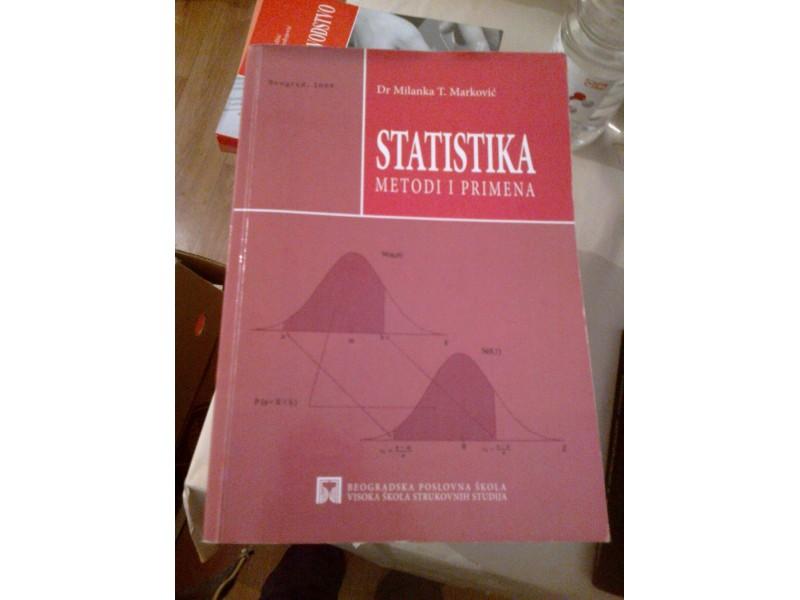 Statistika - dr Milanka T. Marković