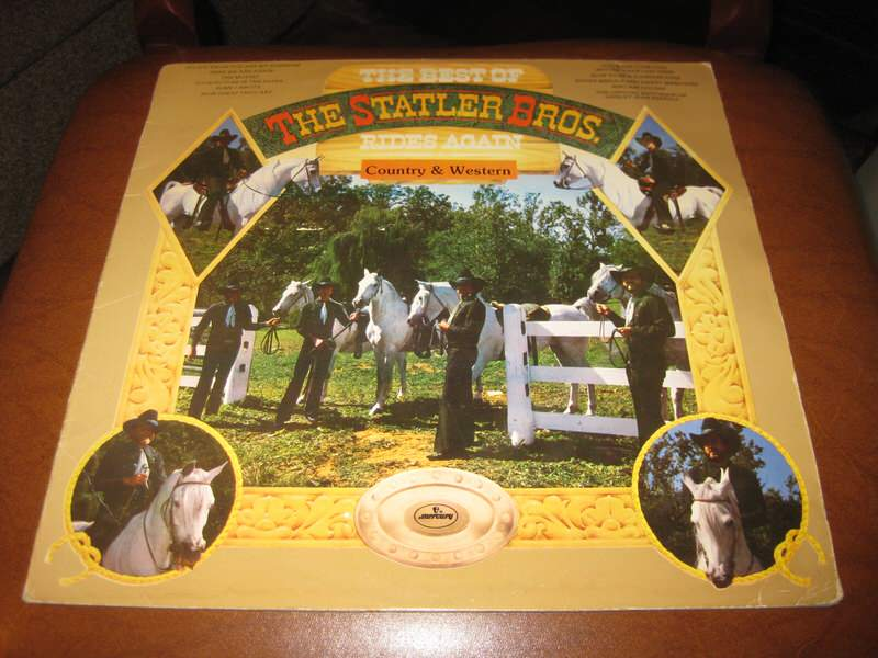 Statler Brothers, The - The Best Of The Statler Bros. Rides Again