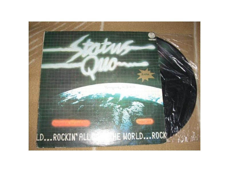 Status Quo – Rockin` All Over The World LP