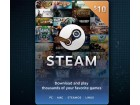 Steam Wallet Kartica - 10$ (USD) + POKLON