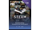 Steam Wallet Kartica - 20 € (EUR) + 2 x POKLON