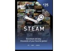 Steam Wallet Kartica - 25€ (EUR) + 2 x POKLON
