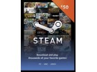 Steam Wallet Kartica - 50€ (EUR) + 5 x POKLON