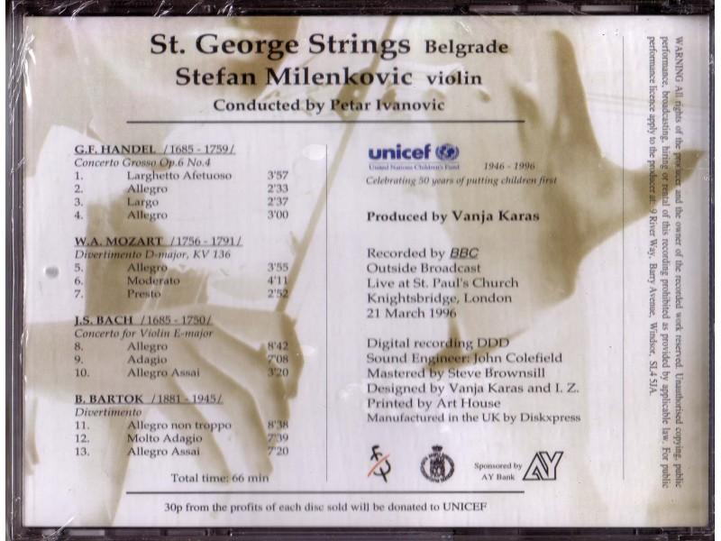 Stefan Milenković - St. George Strings - Belgrade