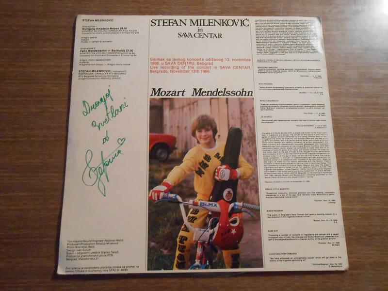Stefan Milenković, Wolfgang Amadeus Mozart, Felix Mendelssohn-Bartholdy - Live In Sava Centar