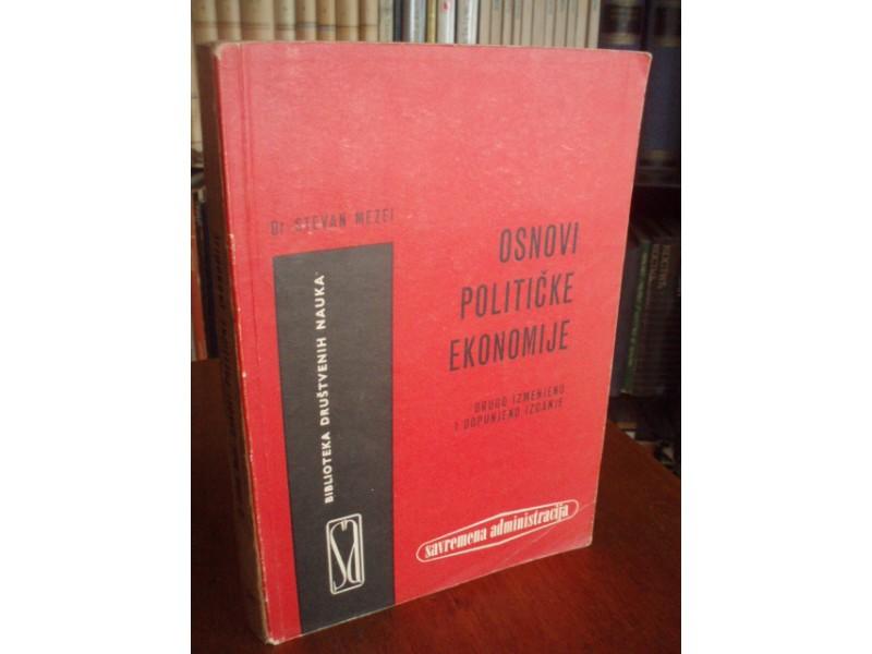 Stevan Mezei,Osnovi političke ekonomije