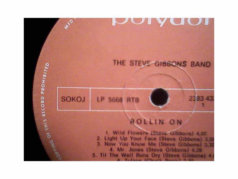 Steve Gibbons Band - Rollin On