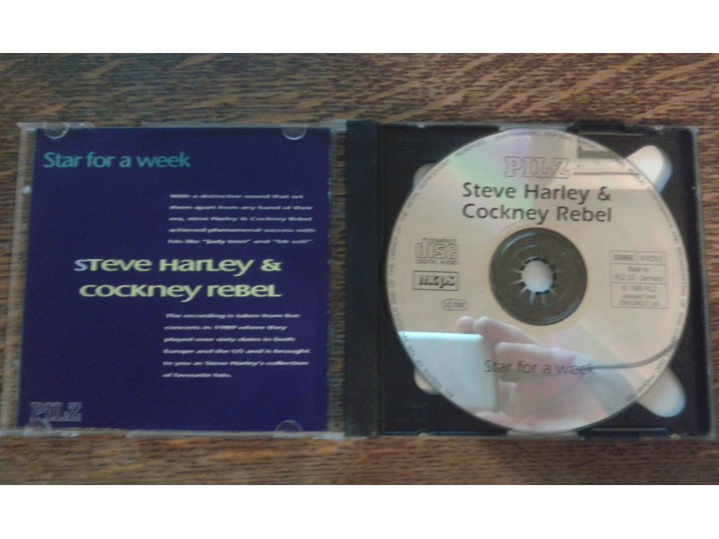 Steve Harley & Cockney Rebel - Star For A Week