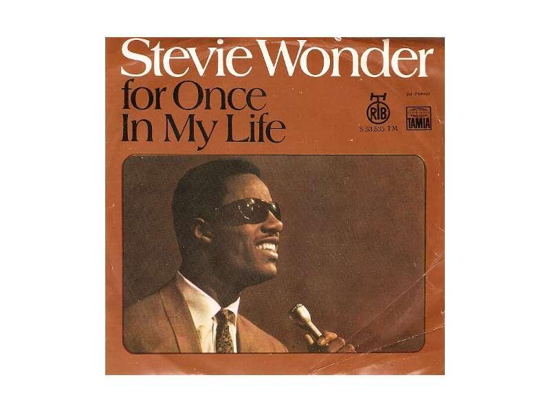 Stevie Wonder - For Once In My LifeS 53 535 TM