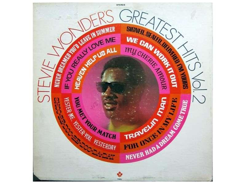 Stevie Wonder - Stevie Wonder`s Greatest Hits Vol. 2