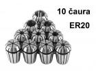 Stezne caure ER20 - 10 velicina - Elasticne caure