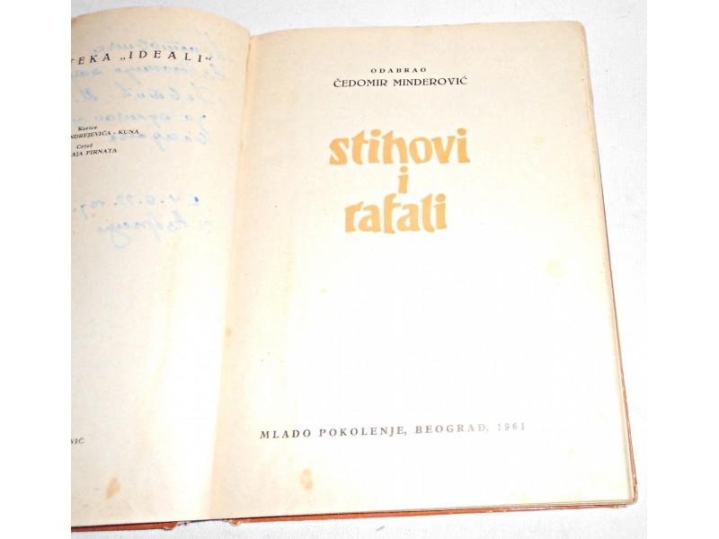 Stihovi i rafali - Čedomir Minderović