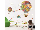 Stikeri (nalepnice) za zid - Šareni baloni