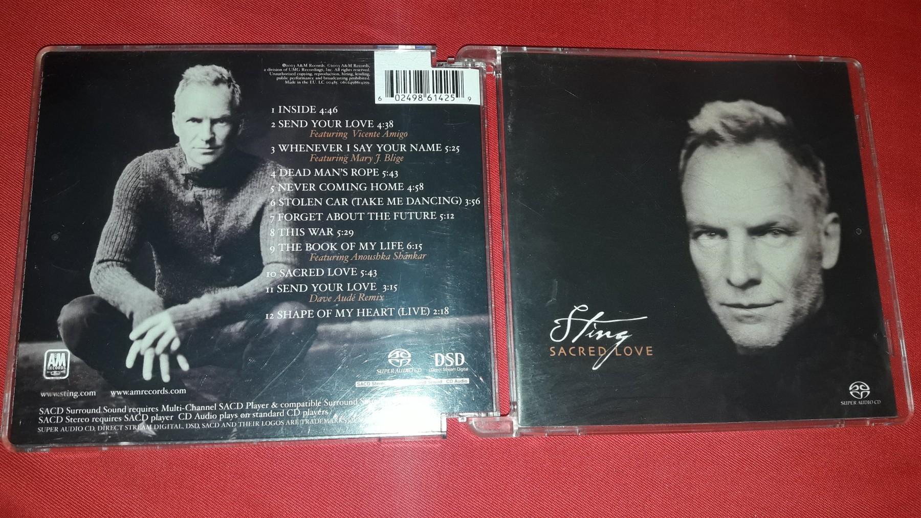 Sting - Sacred love SACD , ORIGINAL - Kupindo com (52758857)