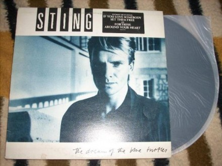 Sting-The Dream Of The Blue Turtles LP
