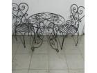 Stolice i stolovi od kovanog gvozdja