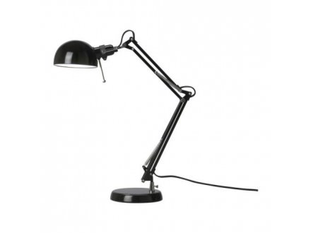 Stona lampa. Crne boje. Veoma lepa i kvalitetna. IKEA