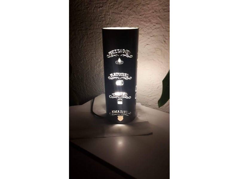 Stona lampa Jack Daniels NOVO NOVO NOVO