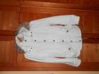 Stradivarius snezno bela jakna S/M