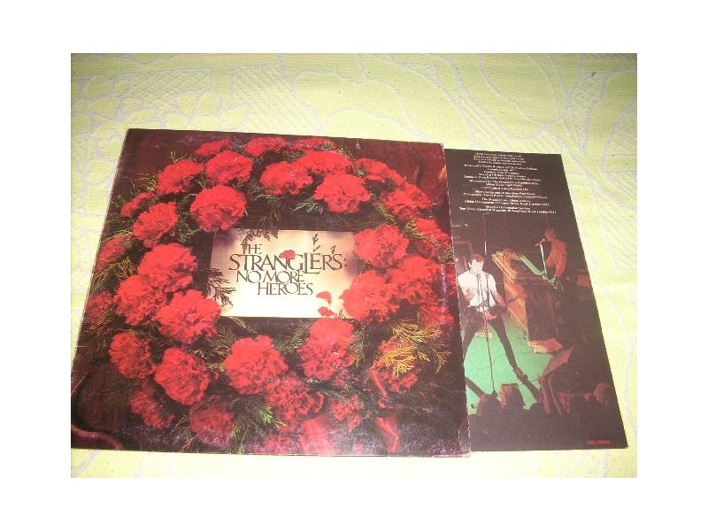 Stranglers-No More Heroes LP Italy