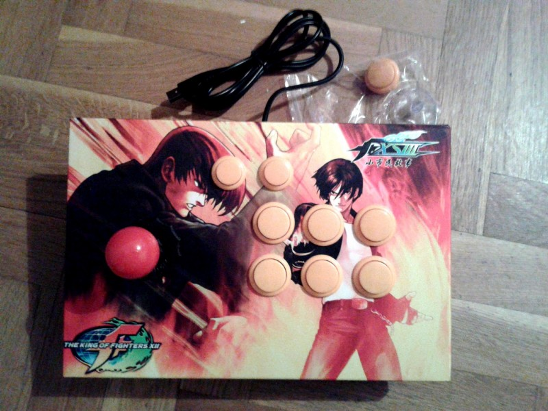 Street Fighter Arcade Joystick PC - USB (NOVO)
