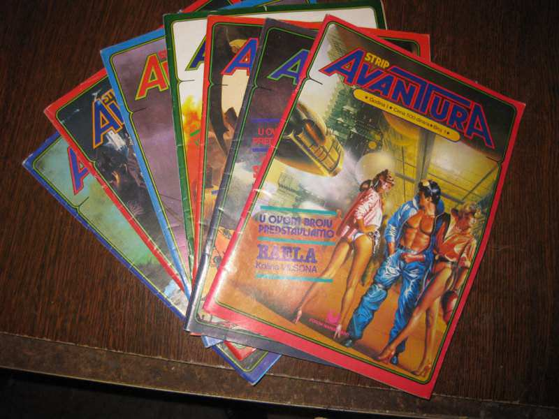 Strip Avantura komplet 1-7