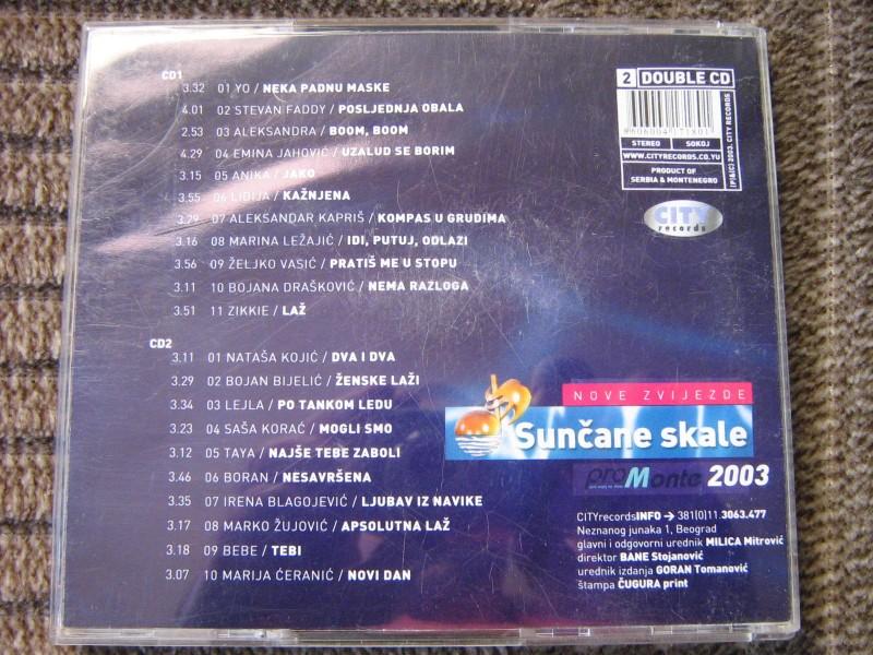 Sunčane skale 2003 - Nove Zvijezde (2xCD)