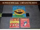 Super 8mm trake - Crtani filmovi 3kom TOP PONUDA
