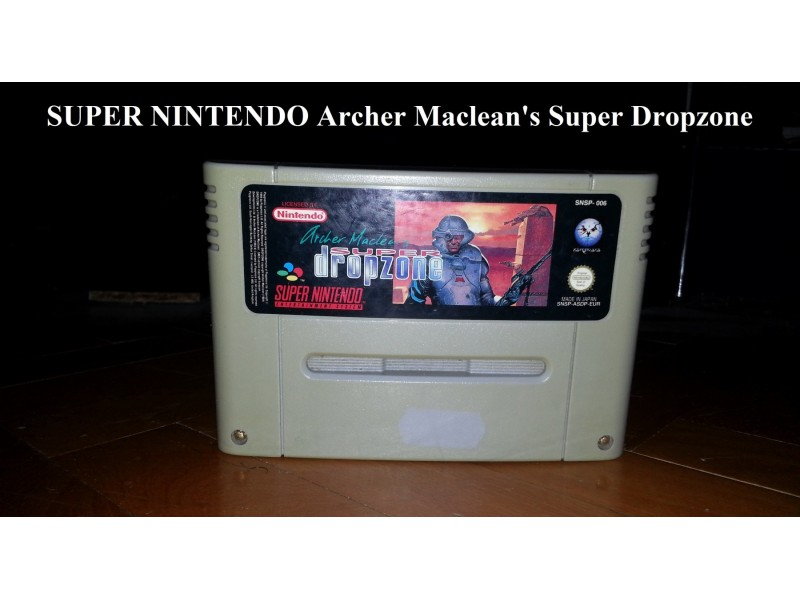 Super Nintendo - Archer Maclean`s Super Dropzone
