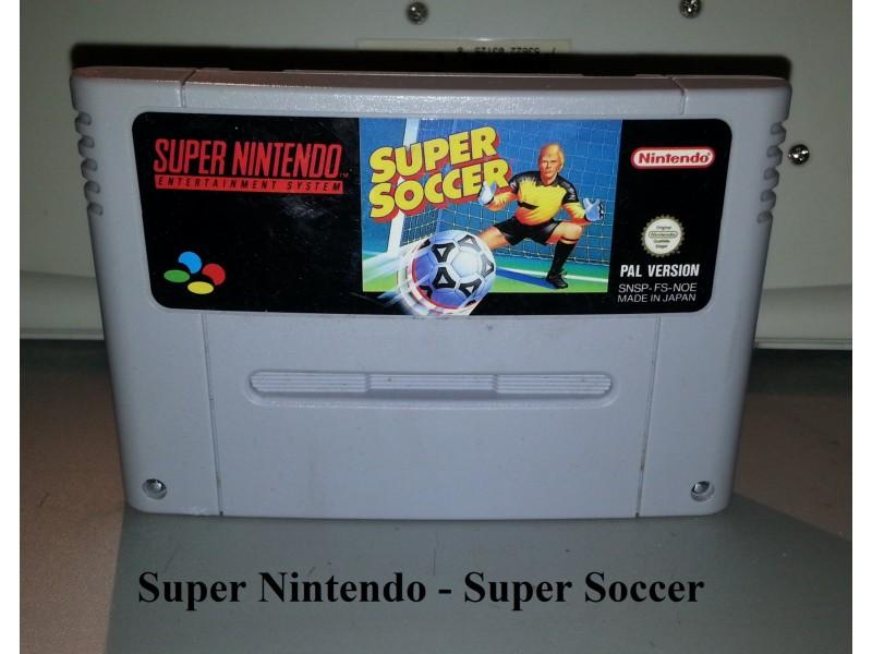 Super Nintendo - Super Soccer