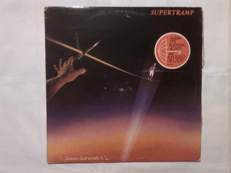 """Supertramp - """"...Famous Last Words..."""""""