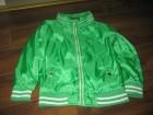 Suskava zelena jaknica za prolece ,kao nova